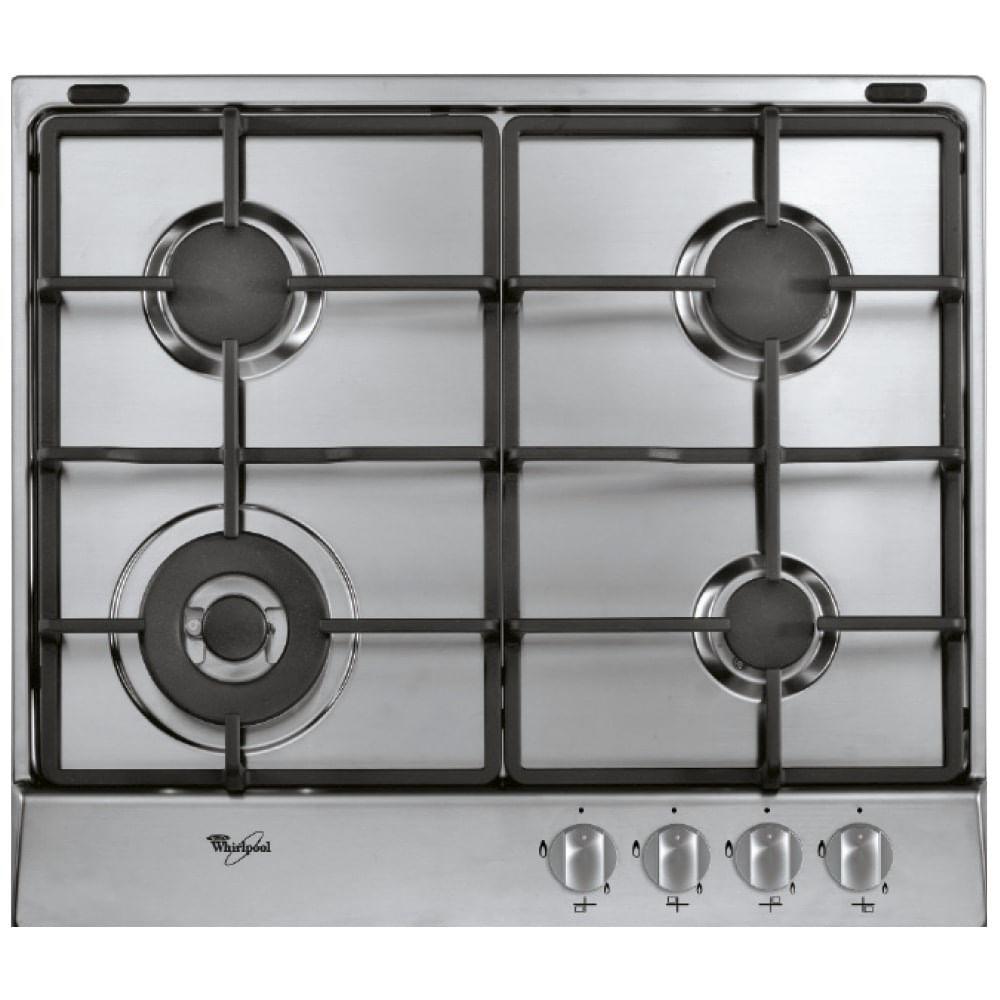 Cubierta a gas whirlpool 4 quemadores akr313ix compra for Encendido electronico cocina whirlpool