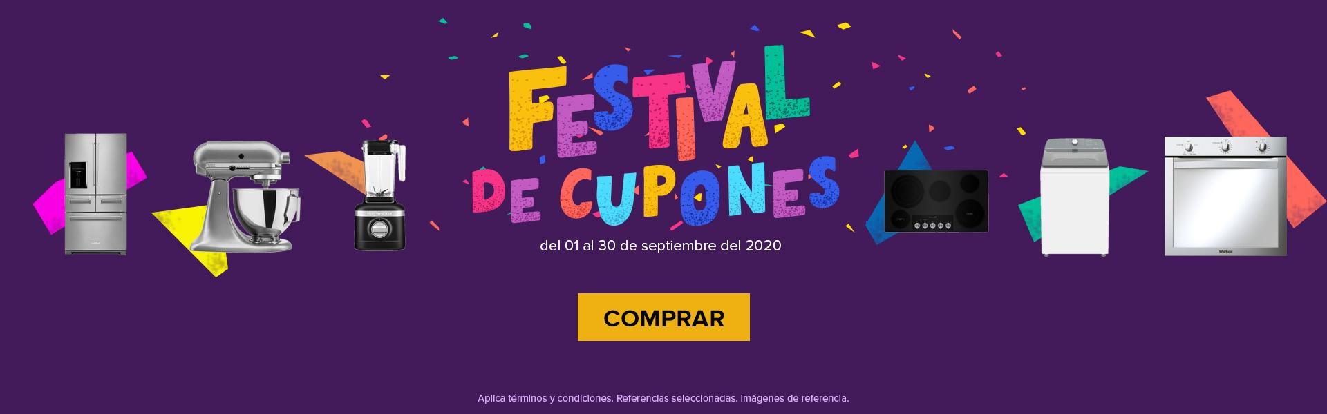 FESTIVAL CUPONES